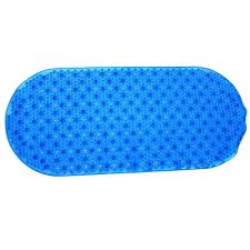 Bathtub Mat Without Suction Cups by Rubbermaid Commercial Products 16 In X 28 In White Safti Grip