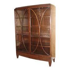 Pulaski Display Cabinet Vitrine by Vintage U0026 Used China And Display Cabinets Chairish