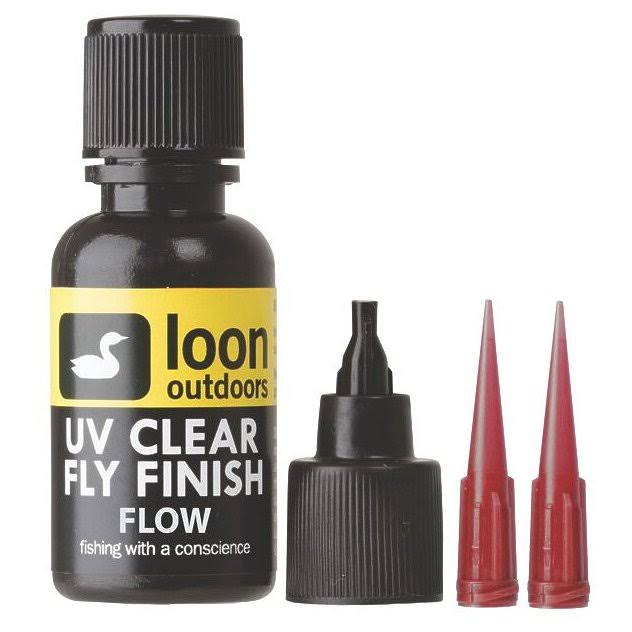Loon Outdoors UV Clear Fly Finish, Flow - 0.5 fl oz bottle