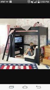 Beddinge Sofa Bed Slipcover Ransta Dark Gray by Best 20 Ikea High Sleeper Ideas On Pinterest Cabin Bed With