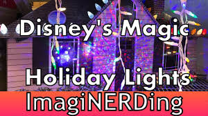 Ge Itwinkle Light Christmas Tree by Disney Magic Holiday Lights For Your Home At Lowe U0027s Shot And