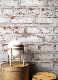 newroom papiertapete steintapete weiß rot ziegelstein backstein mauerwerk klinker tapete steinoptik wohnzimmer schlafzimmer flur tapete steinoptik