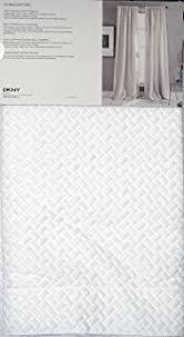 Dkny Mosaic Curtain Panels by Amazon Com Dkny Pair Of Window Rod Pocket Panels Curtains Drapery
