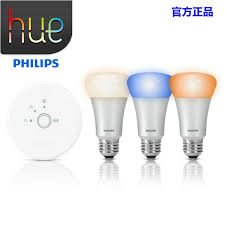 for philips hue smart wireless rgb led light 3pcs e27 led