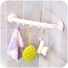 High Quality Removable Wall Strong Hook Hanger With Vacuum Suction Cup Suckers Kitchen Storage Rack Bathroom