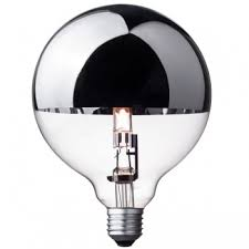 halogen globe bulb g125 silver crown cablelovers