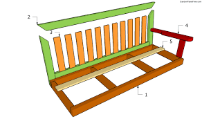 bench swing plans free garden plans how to build garden projects