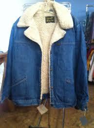vintage wrangler denim sherpa jacket mensvintage size xl color