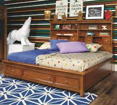 Beds For Less Manhattan Ks by Lea Industries Willow Run Full Sideways Platform Bed With Slat
