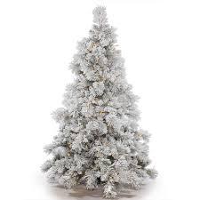 75 Slim Flocked Christmas Tree by Gki Bethlehem Lighting Christmas Trees