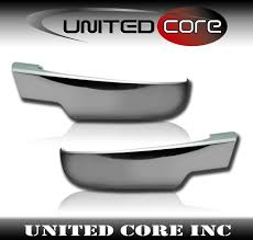 100 Chevy Truck Parts And Accessories Silverado Tahoe Chrome Mirror Cover Lower Bottom Half 0713