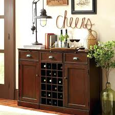 Dining Room Bar Cabinet Hutch Modular Ideas Rustic White
