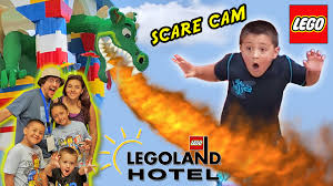 Caillou Scares Rosie In The Bathtub by Legoland Hotel Grand Opening In Florida Dragon Scare Cam Best