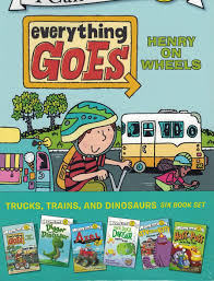 100 Everything Trucks Trains And Dinosaurs 6 Book Set My First Shared Reading