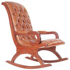 Vintage Leather Chesterfield Style Mahogany Rocking Chair For Sale ... Vintage Studio Made Rocking Chair For Sale At 1stdibs Wooden Upholstered Platform Rockers Antique Chairs 1900s All Modern Or Spring Rocking Chair Collectors Weekly Antiques Restoration 1878 Glider 10 Steps With Bentleys Fniture Of Closed Attic Midcentury Rattan For Sale Pamono Teetertot Wooden Toy Vintage Nursery Rocker Etsy Childs Spring Rocker Red Find Fniture From All Eras Arriving Daily At New Uses Rare The Oldest Ive Ever Seen Parker Knoll 1960s Design Market