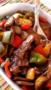 Super Easy Recipe With Sauteed Steak Strips Peppers And Onions PERFECT