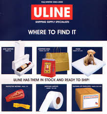 This Is The Cover Of Uline Shipping Materials Catalog Thank Goodness Theyre Finally Encouraging People To Use Foam When They Ship Puppies