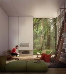 jungle living room interior design ideas