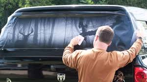 Legendary Whitetails Window Tint Installation - YouTube Show Your Back Window Stickers Page 4 Mallard Duck Hunting Window Decal Hunter And Dog Duck Attn Truck Ownstickers In The Rear Or Not Mtbrcom The Sign Shop Vehicle Livery Makers Graphics American Flag Back Murica Stickit Stickers In God We Trust Rear Graphic For Amazoncom Vuscapes Cowboy Up 3 Seattle Seahawks Sticker Car Suv Hotmeini 2x Sexy Women Silhouette Mud Flap Vinyl Off Your 50 Ford F150 Forum Wolf Wolves Perforated Police Officer Support Thin Blue Line