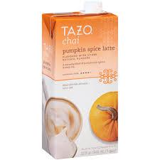 Pumpkin Spice Latte Dunkin Donuts Ingredients by Tazo Chai Pumpkin Spice Latte Black Tea Concentrate 32 Fl Oz