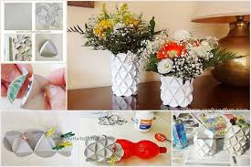 Plastic Bottle Vases 1