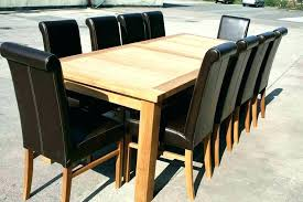 Extendable Dining Table Seats Seat Room Image Of Sets Oval John Lewis Glass Extending Tables