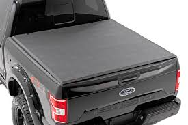 100 F 150 Truck Bed Cover Soft Triold S For 20152019 Ord Pickup Rough