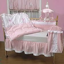 Amazon Baby Doll Bedding Regal Pique Crib Bedding Set Pink
