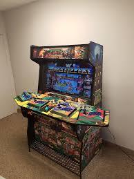 Mame Arcade Bartop Cabinet Plans by Man Cave Arcade