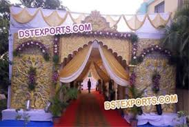 Indian Wedding Welcome Entrance Gate