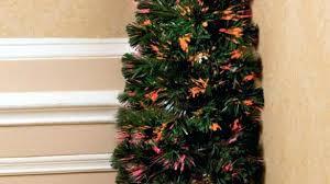 Half Christmas Tree Prelit Homey Design Trees White Pre Lit Amazon