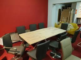 neu set 8x echt leder design drehstuhl stühle edelstahl niehoff