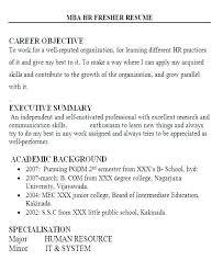 Sample Resume Objectives For Cse Freshers Summary Profile Engineering