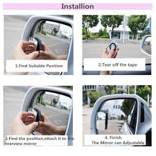 Buy UNIVERSAL 2pcs 360° Car Truck Blind Spot Mirror Wide Angle ... Trail Ridge Tow Mirror Power Heat Signal Memory Puddle Black Pair 0408 F150 Exteions 3 Ford Truck Club Gallery Installation Of A Cipa Custom Towing On 2006 Hcom 2pc Universal Clipon Trailer Side Amazoncom Dometic Dm2912 Milenco Grand Aero3 Twin Longview Lvt2300c Driver And Passenger Princess Auto 11750 Fender Mount Automotive Semi Image Description Imageloadco Extendable Mirrors Northern Tool Equipment Camping World 11550 52017 Usa Inc