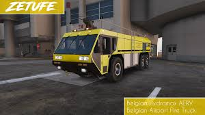 100 Airport Fire Truck Belgian Based On Ostend Bruges Hydramax AERV