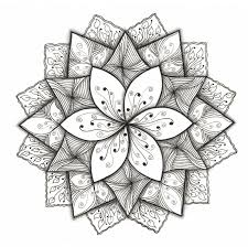 Henna Flower Designs On Paper Easy