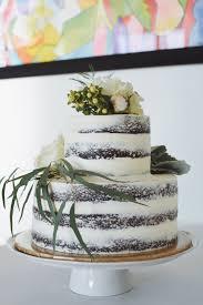 Rustic Naked Wedding Cake SEMI NAKED CHOCOLATE CAKE