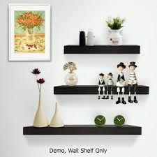 Vintage Wood Display Wall Shelves For Collectibles