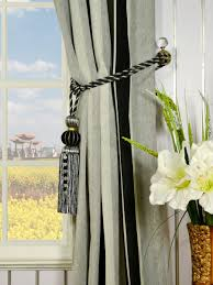 Vertical Striped Window Curtains by Petrel Vertical Stripe Grommet Chenille Curtains
