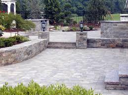Photo Of Brick Ideas by Outdoor Garden Design Decorative Natty Unilock Pavers For