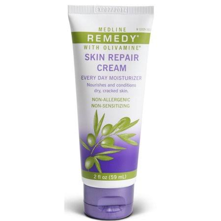 Medline Remedy Skin Repair Cream with Olivamine - 2 fl oz