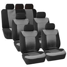 Oxgord Trim 4 Fit Floor Mats by 3 Row Car Seat Covers Luxury For Van Minivan Truck Ebay