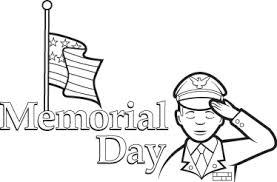 Memorial Day Flag Coloring Sheets