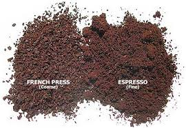Coffee Grind Size Comparison