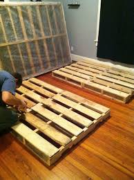 Pallet Bed Frame Decor Ana White Kentwood Diy Projects Ana Twin