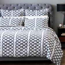 DwellStudio Arabesque Ink King Duvet Cover DW 1100 50 43 Bedding