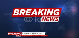 Breaking News Live On World Map Background Vector Illustration