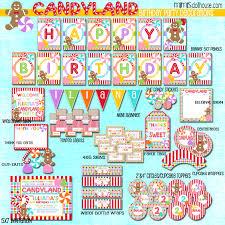 Candyland Invitation Mimis Dollhouse