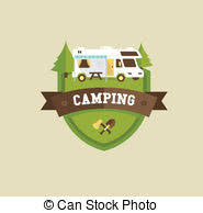 Campground Clip Art And Stock Illustrations 809 EPS