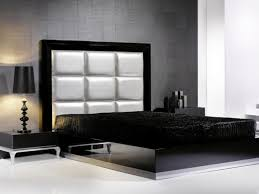 Black Leather Headboard Queen by Bed Frame Modern Leather Headboard Black Queen Size Bed Frame